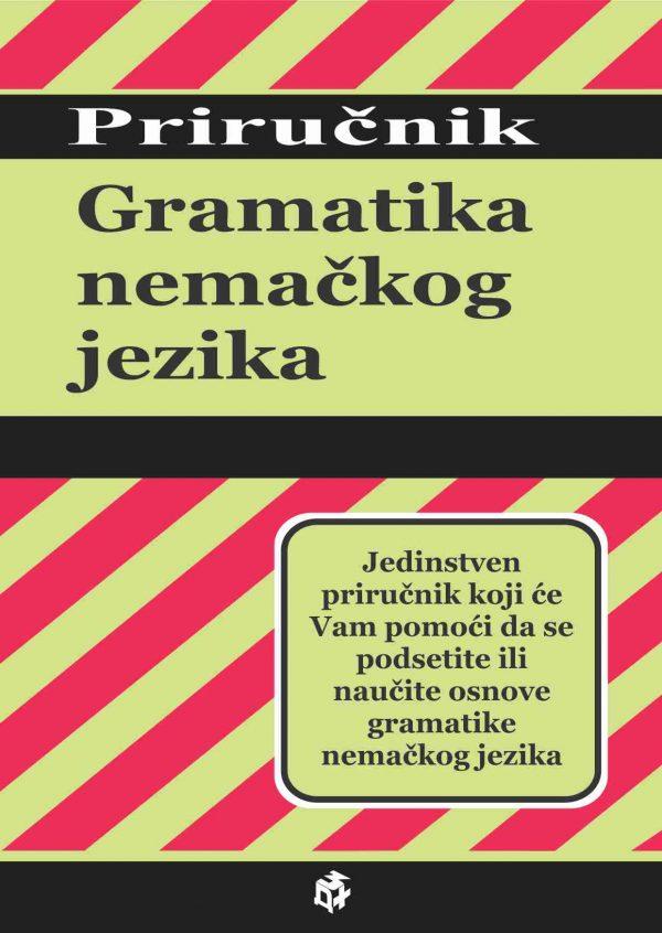 Gramatika nemačkog jezika - Priručnik   3D+